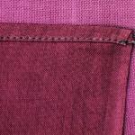手ぬぐいの三巻縫製
